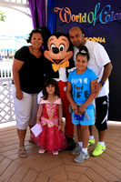 Hoyou Family at Disneyland California July 28, 2010