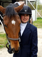 Emma's first Equestrian competition