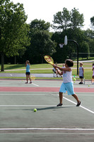 Izzy Playing Tennis 071608