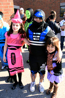 Izzy and Emma's School Halloween Parade 10312011