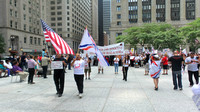 Assyrian Protest Downtown Chicago