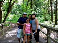Family at Rockford Hike
