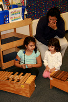 Izzy & Emma Kinder Care Music Class 110409